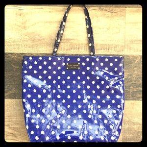 Kate Spade polka dotted shopping tote